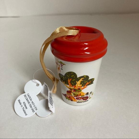Starbucks Disney Animal Kingdom Tumbler Ornament